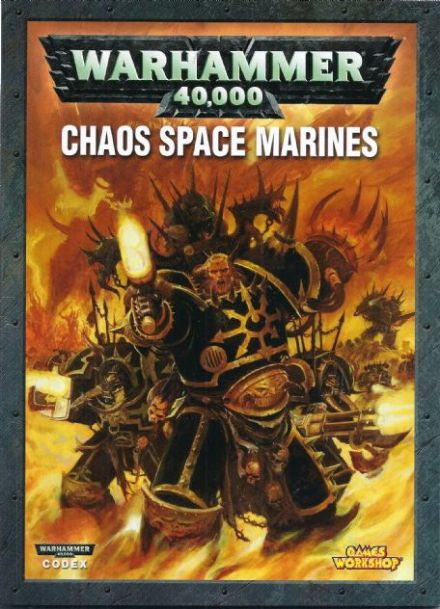 Chaos Space Marines Codex Rulebook 2007